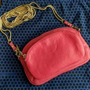 Rebecca Minkoff Jelly Bean Crossbody Pink